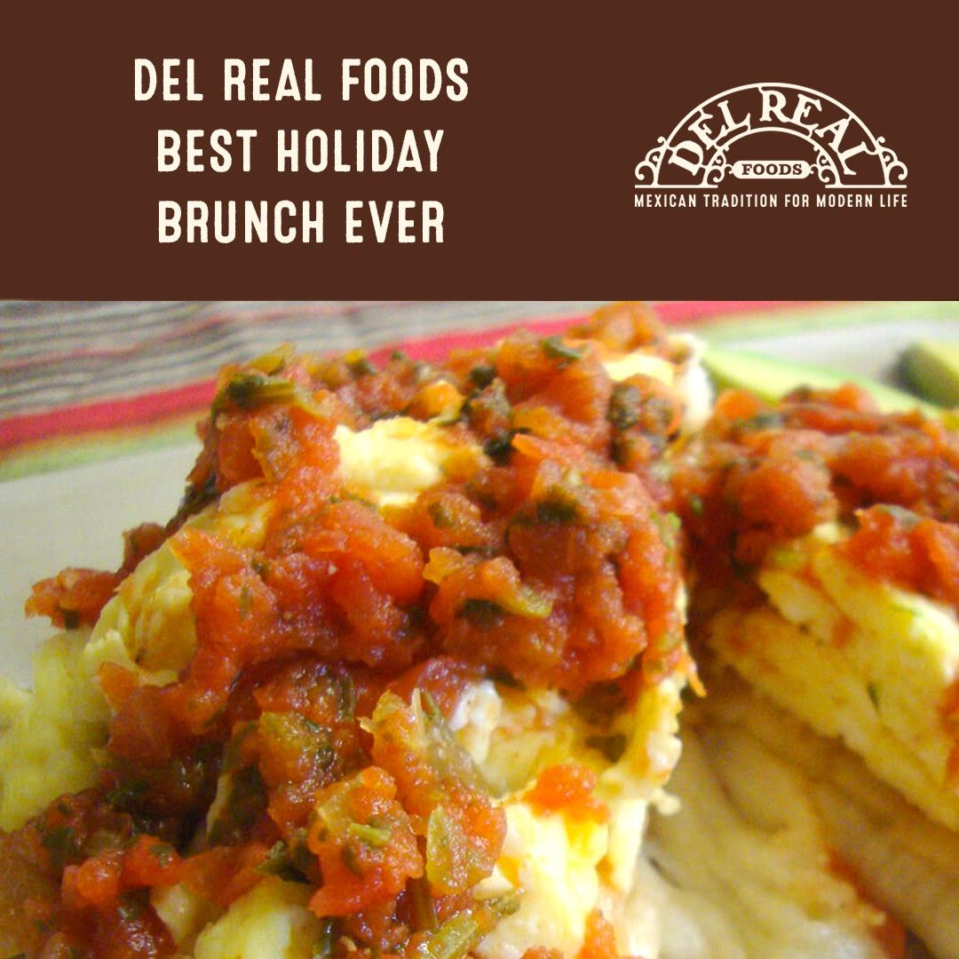 del real foods brunch menu
